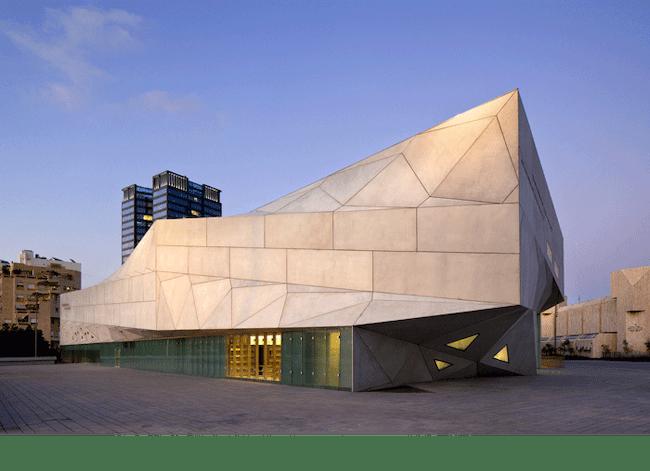 The Tel Aviv Museum of Art designed by Cohen. Credit: Preston Scott Cohen, Inc.
