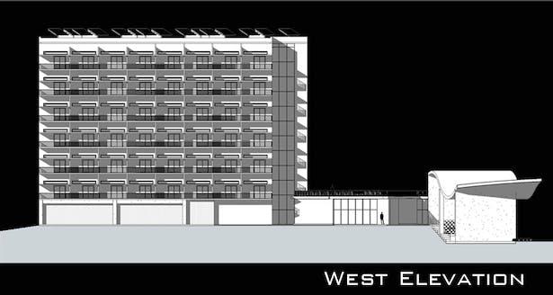 Housing and Community Outreach West Elevation