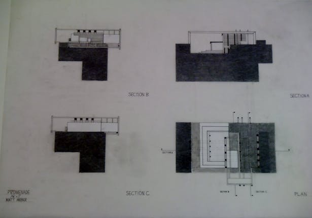 Hand Drawn Plans and Sections