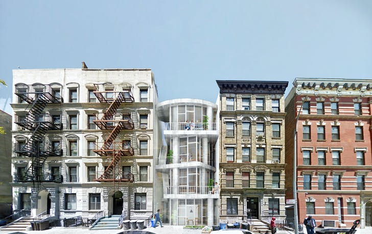 Table Top Apartments. 1st Prize winning entry in New York Affordable Housing Challenge
