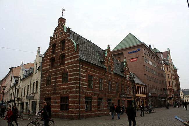 Example of a Jugendstil style building in Malmö