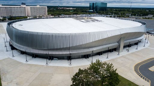 Municipal Award winner: Nassau Veteran's Memorial Coliseum located in Uniondale, New York. Image: Jamey Price Photography, courtesy of 3A Composites USA.