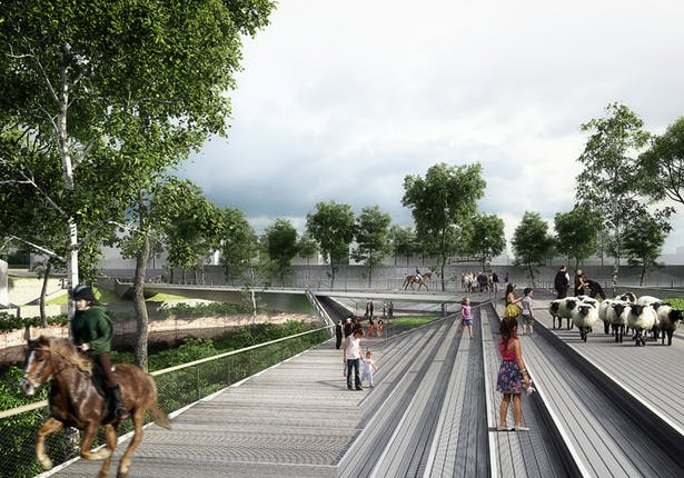 AZC - Salford Meadows Bridge