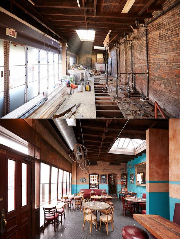 Bar - Before and After