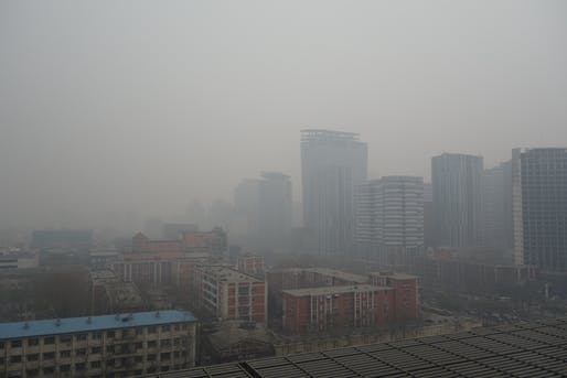 Beijing suffers from some of the worst air pollution in the world. Now officials want to add 'ventilation corridors' to help clear the skies. Image via wikipedia