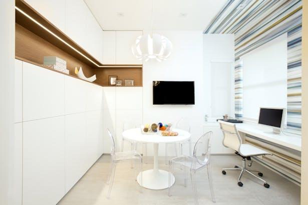 Craft Room - Residential Interior Design Project in Aventura, Florida