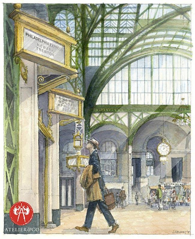 a future/rebuilt Penn Station