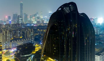 Iwan Baan photographs MAD's newly completed Chaoyang Park Plaza