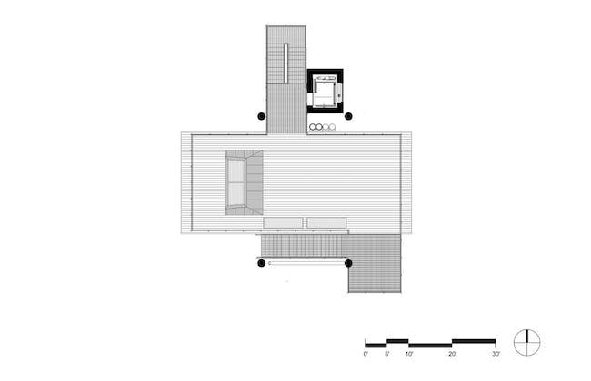Level 2 Roof. Image courtesy of Mithun.