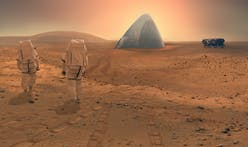 The Mars Ice House envisions the day Earthlings can live with ease atop the Martian surface
