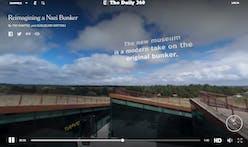 Tour BIG's Tirpitz Bunker Museum through NYT's Daily 360