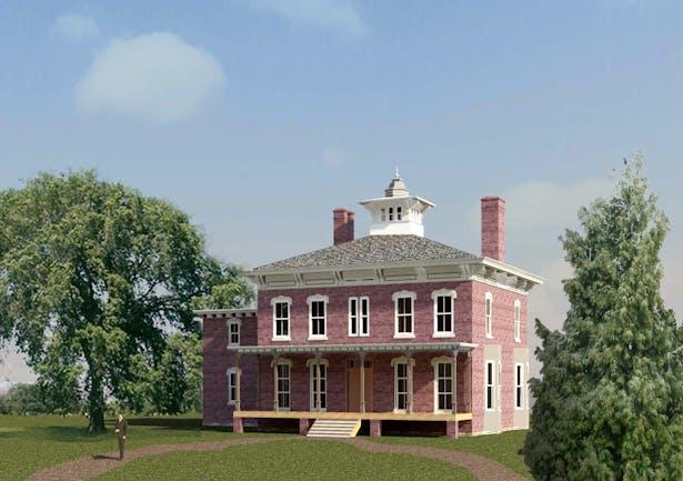 Wilder Mansion - Revit Model - 1879 Appearance