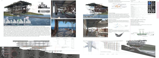 Burbank Recycling Center >> Conversion to Acclimatization (Bio-Marine Research Center) | Justin Owens | Archinect