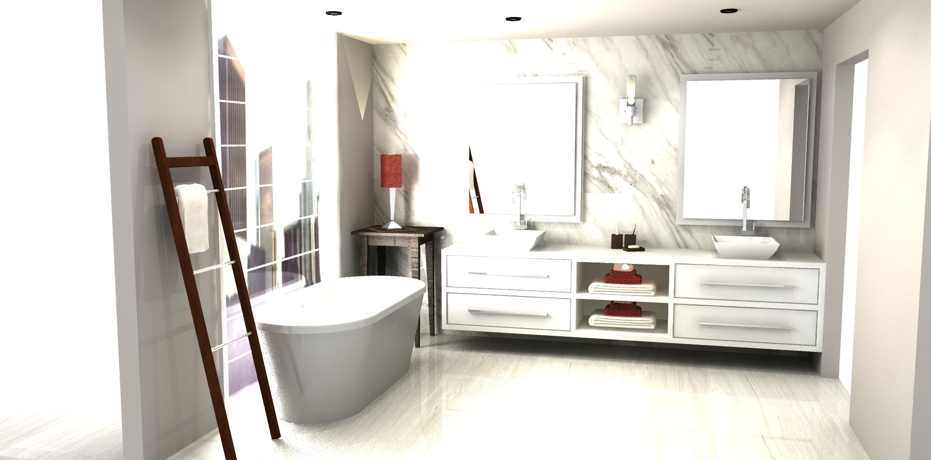 Modern Bathroom Design | 3D VR Designs | Archinect