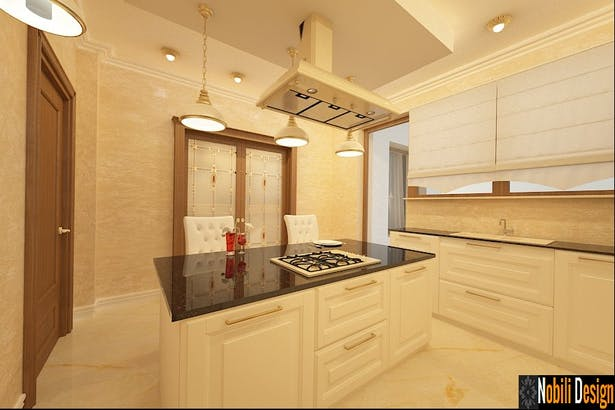 Build a classic style luxury kitchens-Nobili Interior Design