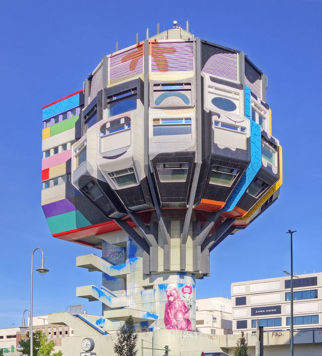 The Bierpinsel. Photo by A. Savin