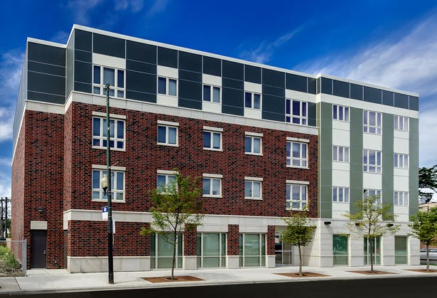 Milwaukee Avenue Apartments / Full Circle Communities / Cordogan Clark & Associates Architects