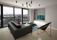 MODERN HIGH FLOOR APARTMENT WITH VIEWS OF RIVER
