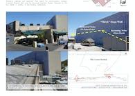 Universal Studios/NBC Shrek Stage Baffle Wall