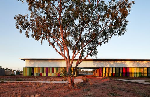 Fitzroy Crossing Renal Hostel by Iredale Pedersen Hook Architects. Category: Health