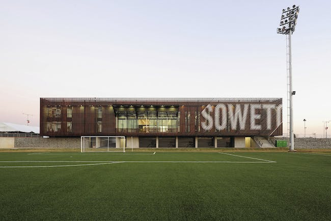 2012 AZ Award Winner - Architecture - Commercial over 1,000 sq m: Nike Football Training Centre, Soweto by RUFproject