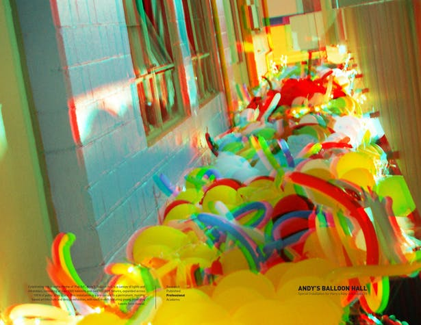 Andy's Balloon Hall / Design Installation for Night Walk, Kakaako, HI US