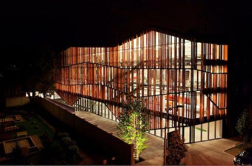 The newly opened Małopolska Garden of Arts in Krakow, Poland by Ingarden & Ewý Architects (Photo: Krzysztof Ingarden)
