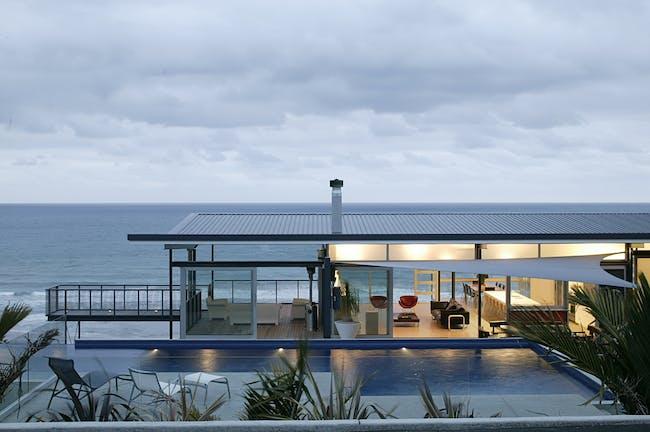 Okitu House in Gisborne, New Zealand by Bossley Architects