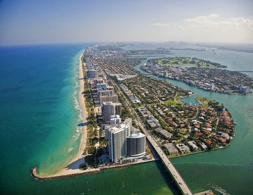 The Harvard GSD led initiative will study issues of affordable housing, transportation, and sea level rise in Miami. Image Location: Sunny Isles Beach, Miami, FL.