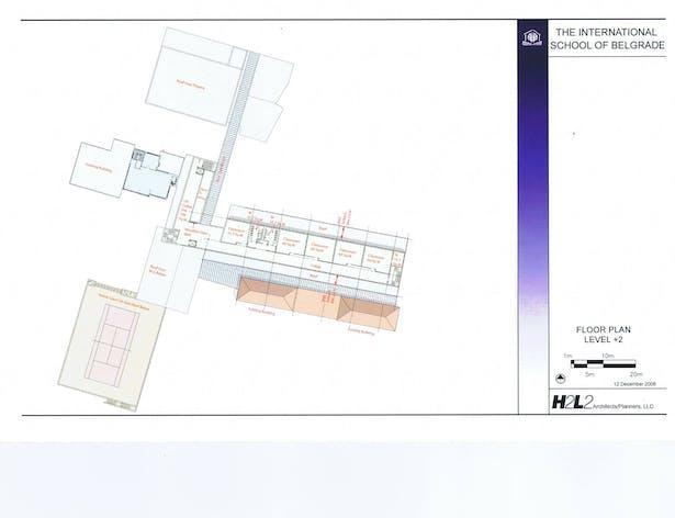 Floor Plan (level +2)