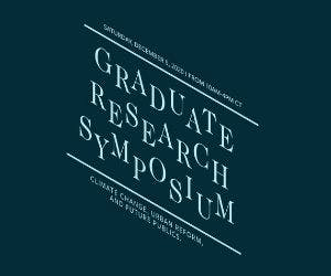 Tulane School of Architecture Graduate Research Symposium