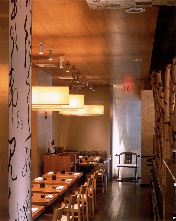 Haru restaurant tobin parnes design archinect