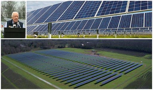 Jimmy Carter Solar Farm - Plains, GA